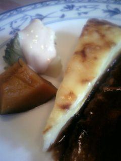 ジャガイモとチーズのミルフィーユ、南瓜、ブロッコリー.jpg