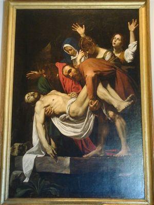 014・絵画館・キリストの埋葬・カラヴァッジョ.jpg
