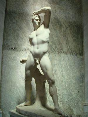 030・ピオ・クレメンティーノ美術館・ペルセウスの左の像.jpg