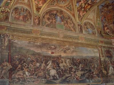 048・ミルヴィオ橋の戦い・ラファエロの弟子・ジュリアーノ・ロマーノ.jpg
