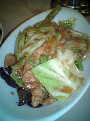豚肉とキャベツの味噌炒め定食